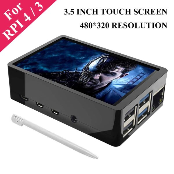 3.5 Inch Raspberry Pi 4 Model B Touch Screen 480*320 TFT LCD Display with Touch Pen