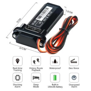 GPS Tracker Best Cheap Vehicle Tracking Device Waterproof motorcycle Car