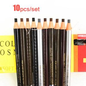 Eyebrow Pencil 10 Pcs Set