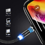 Magnetic Design Micro USB Charging Cable 1M