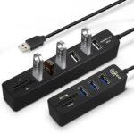Multi USB 3.0 Hub USB Splitter High Speed