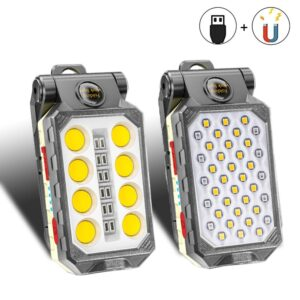 COB Work Light Portable LED Flashlight Waterproof
