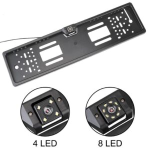 Car Rear View Camera 4/8 LED Parking Assistance