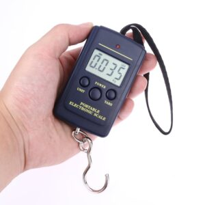 Compact Digital Fishing Scales with Strap