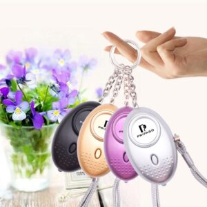 Compact Personal Alarm with LED Light