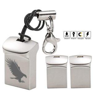 Mini Eagle Engraved USB Flash Drive
