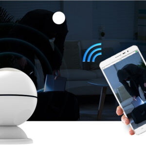 Wireless IR Motion Sensor & Alarm